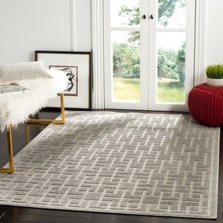 Safavieh Indoor / Outdoor Cottage Grey Rug (3' x 5')
