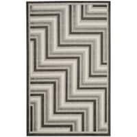 Safavieh Cottage Dark Grey / Light Grey Area Rug - 3'3 x 5'3