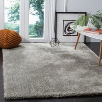 Safavieh Toronto Handmade Light Grey Shag Rug - 4' x 6'