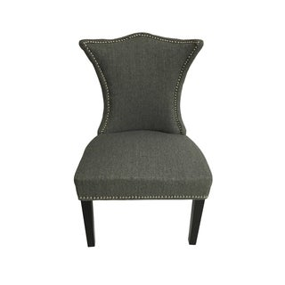 Linda Chair Grey Stallion Linen