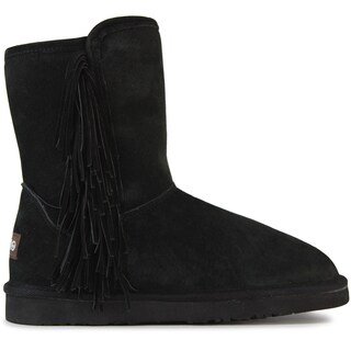 Lamo Sellas Black Suede Boots