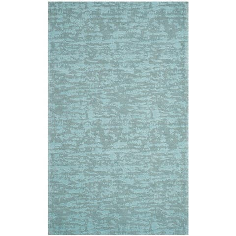 Safavieh Handmade Flatweave Marbella Florette Modern Polyester Rug