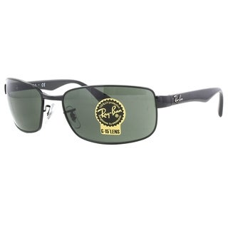 Ray-Ban RB3478 002 Black Frame Green Classic 60mm Lens Sunglasses