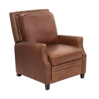 Safavieh Couture High Line Collection Buddy Italian Leather Recliner