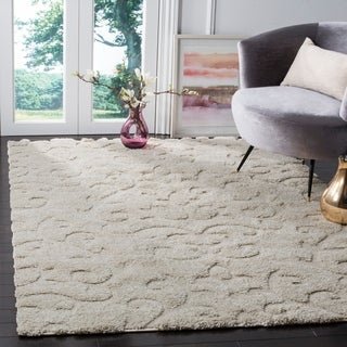 Safavieh Florida Ultimate Shag Cream Shag Rug (8' x 10')