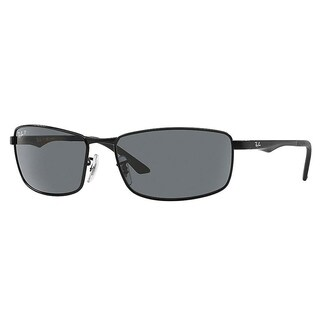 Ray-Ban RB3498 006/81 Black Frame Polarized Grey Gradient 61mm Lens Sunglasses