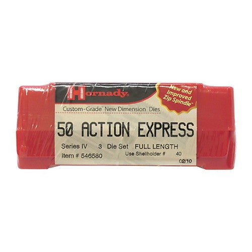 Hornady Series IV Specialty Die Set 50 Action Express