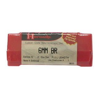"Hornady Series IV Specialty Die Set 6MM Remington BR (.243"")"