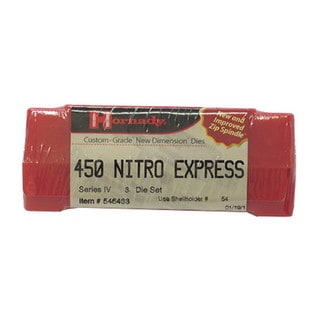 Hornady Series IV Specialty Die Set 450 Nitro Express