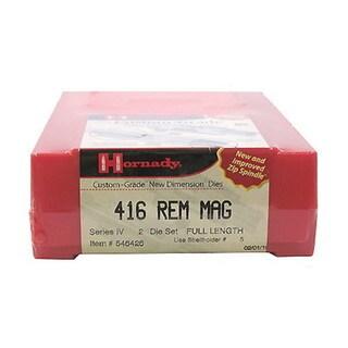 Hornady Series IV Specialty Die Set 416 Remington Magnum (.416)