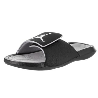 Nike Jordan Men's Jordan Hydro 6 Black Leather Sandals