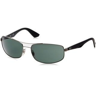 Ray-Ban RB3527 029/71 Gunmetal/Black Frame Green Classic 61mm Lens Sunglasses