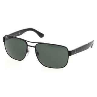Ray-Ban RB3530 002/71 Black Frame Green Classic 58mm Lens Sunglasses