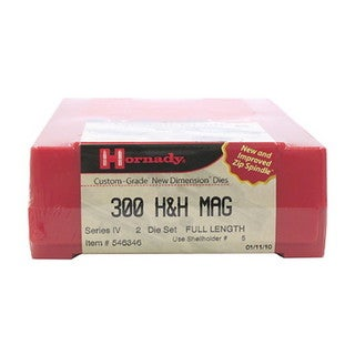 "Hornady Series IV Specialty Die Set 300 H&H (.308"")"