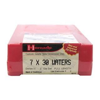 """Hornady Series IV Specialty Die Set 7X30 WATERS (.284"""")"""