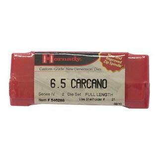 "Hornady Series IV Specialty Die Set 6.5 Carcano (.268"")"