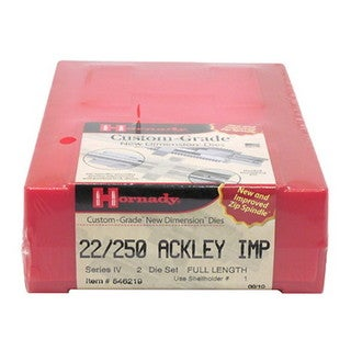 Hornady Series IV Specialty Die Set 22/250 Ackley Improved