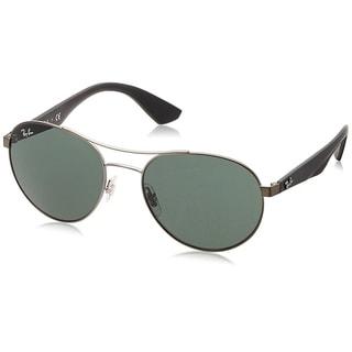 Ray-Ban RB3536 029/71 Gunmetal/Black Frame Green Classic 55mm Lens Sunglasses