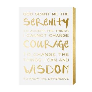 Wynwood Studio' Serenity Prayer' Plaque Art