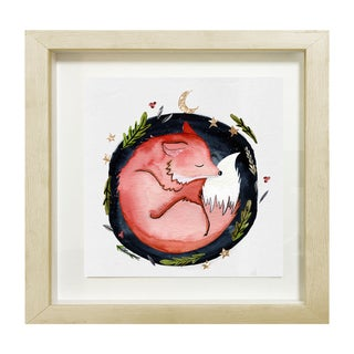 Wynwood Studio 'Sleeping Fox' Framed Art
