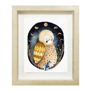 Wynwood Studio 'Dreaming Owl' Framed Art