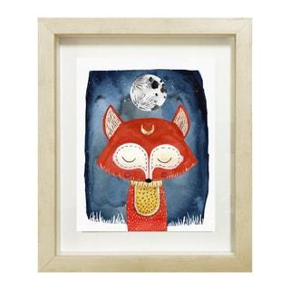 Wynwood Studio 'Dreaming Fox' Framed Art
