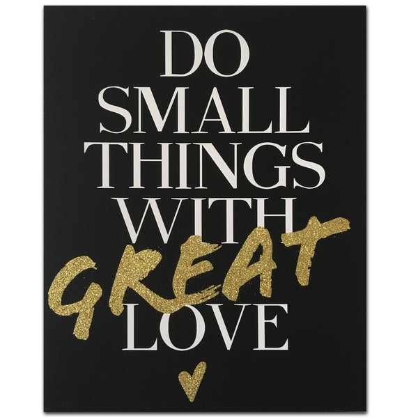 Wynwood Studio' Do Things with Love' Canvas Art