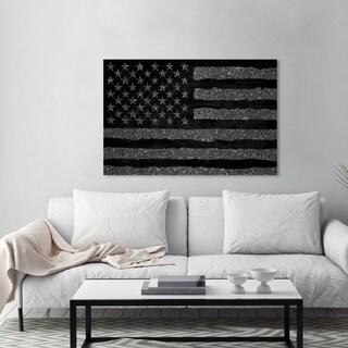 Wynwood Studio 'Rocky Freedom Dark' Canvas Art