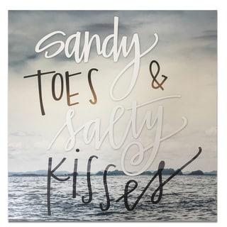 Wynwood Studio 'Salty Kisses' Plaque Art