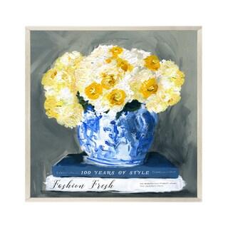 Wynwood Studio 'Fashion Fresh Blue' Canvas Art