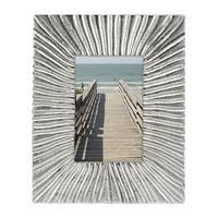 Lenox Organics Reef Silver-colored Aluminum/Glass 4-inch x 6-inch Picture Frame