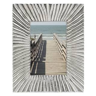 Lenox Organics Reef Silver Aluminum 5 x 7 Frame