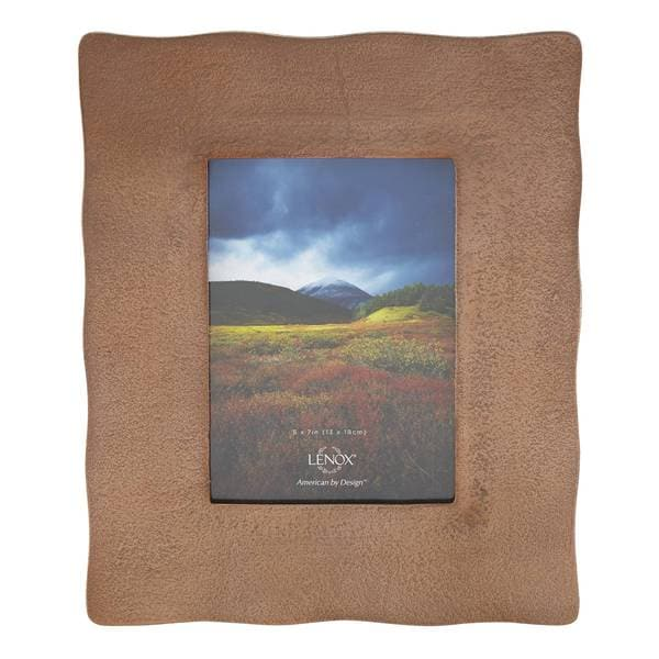 Lenox Organics Copper 5x7 Frame