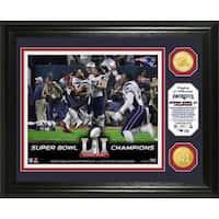 Super Bowl 51 Champions Celebration Bronze Coin Photo Mint