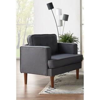 DG Casa Danbury Mid-Century Grey Chair