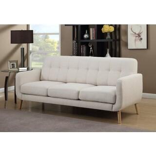 DG Casa Morrison Beige Mid-century Modern Sofa