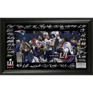 Super Bowl 51 Champions Celebration Signature Grid