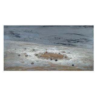Bassett Mirro Co 'Deep Ocean' High-gloss Canvas Wall Decor