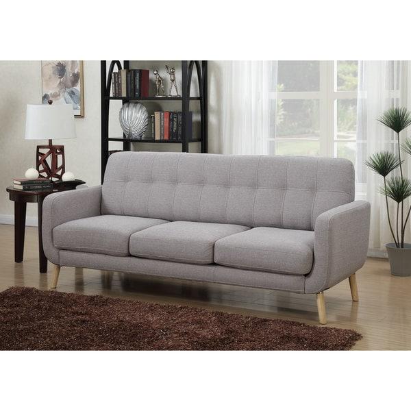 Mid Century Grey Sofa: Shop DG Casa Morrison Mid-century Grey Sofa