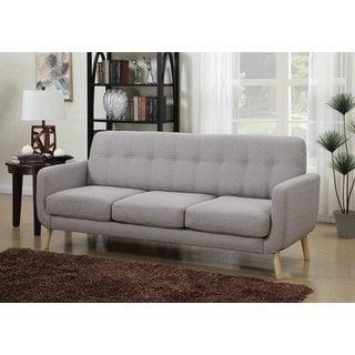 DG Casa Morrison Mid-century Grey Sofa