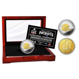 Super Bowl 51 Champions Two-Tone Mint Coin