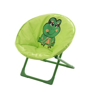 Sunjoy Frog Steel Kiddy Chair in Green