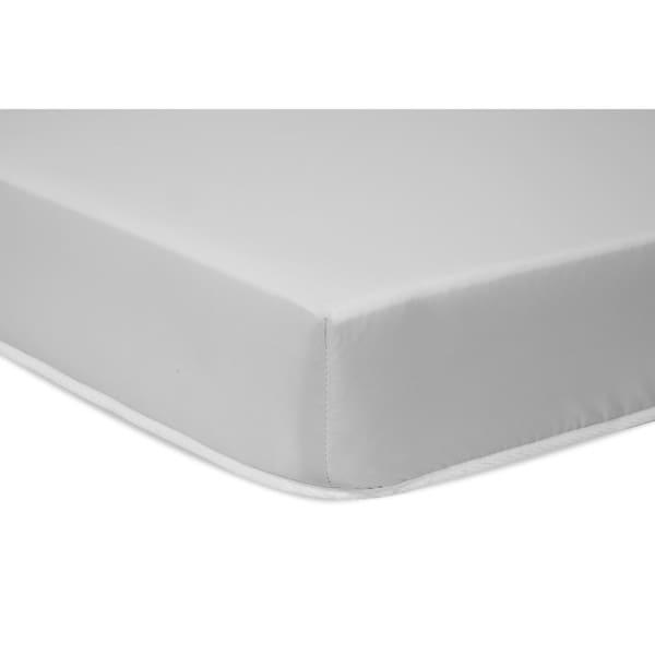 DaVinci Non-Toxic 50 TotalCoil Mini-Crib Mattress with Hypoallergenic Waterproof Cover - White