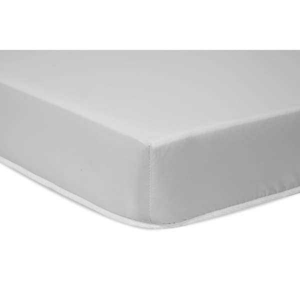 DaVinci Non-Toxic Complete Mattress with Hypoallergenic Waterproof Cover - White