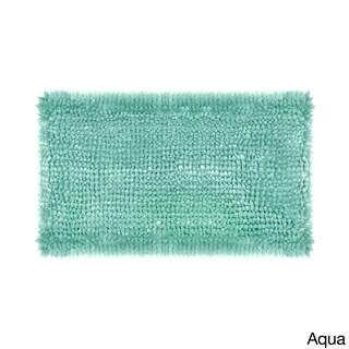 Laura Ashley Butter Chenille Bath Mat
