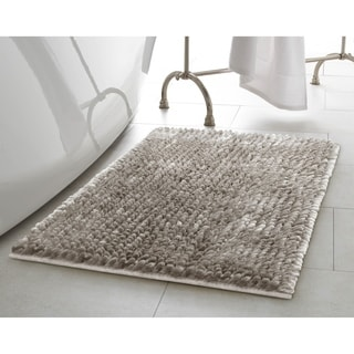 Laura Ashley Butter Chenille Bath Mat