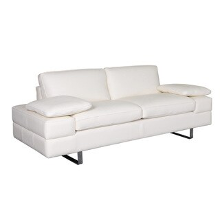 White Lindo Loveseat