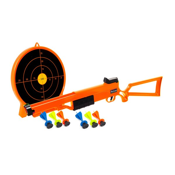 Toysmith Petron Sports Rifle and Target Combo Toy