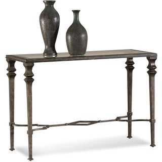 Neo Classical Bronze Finish Lido Console Table