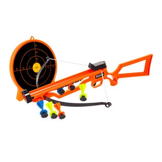 Toysmith Petron Sports Sureshot Crossbow and Target Combo Toy